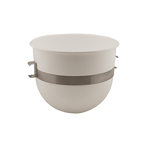 20-Quart Mixer Bowl, Plastic w/Stainless Steel Side Band