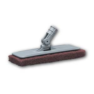 Floor-Scrubbing Pads & Holder