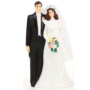 Wilton Lasting Love Wedding Couple Cake Topper