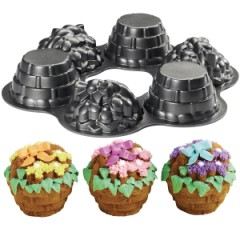 Wilton Dimensions Multi-Cavity Mini Flower Baskets Pan