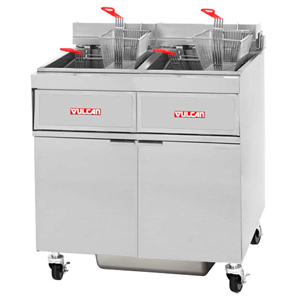 Vulcan 2gr45mf 1 Freestanding Natural Gas Fryers 90 Lbs