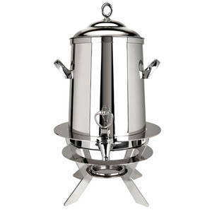 Eastern Tabletop Stainless Steel 1.5 Gal. Luminous Coffee Urn