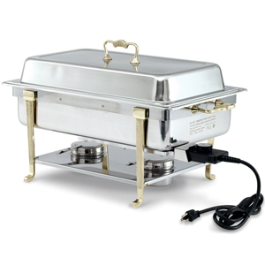 vollrath electric chafing dish short side receptacle