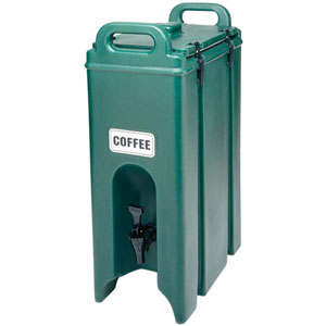 Cambro 5-Gallon Camtainer, Insulated Beverage/Soup Container