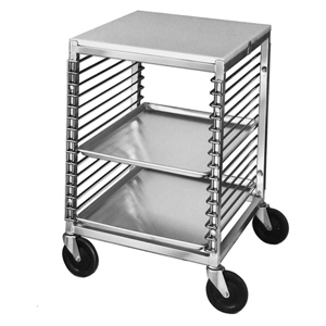 Channel Mobile Work Table Wire Pan Slide, Aluminum / Plated Steel Construction