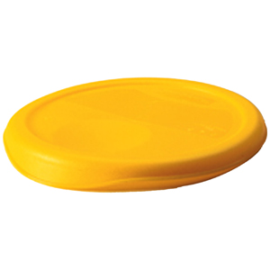 Rubbermaid Lid For Storage Cont. Yellow Fits 2 & 4 Qt. Round for Item #5720 and #5721 FG572200YEL