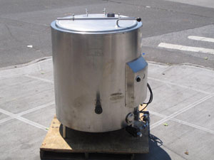 Legion 80 Gal S/S Propane Gas Kettle Used Model # LGR80 Used Great Condition