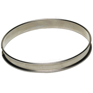 Gobel Stainless Steel Round Tart Ring, 120mm (4-3/4) x 3/4 High