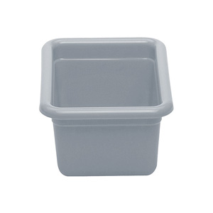 Cambro 912CBP180 Small Utility Poly Cambox, Light Gray - Pack of 12