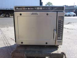 Amana Combination Microwave Convection Oven Model Ace208sbc2 Used Good Condition