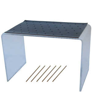 50-Hole Bonbon Dipping Stand with Mat & Dipping Sticks