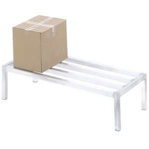 Aluminum Dunnage Rack 12 High