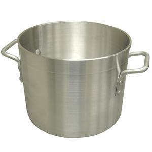 winco super aluminum stock pot size 80 quart 19 diameter stock pots bakedeco com. Black Bedroom Furniture Sets. Home Design Ideas