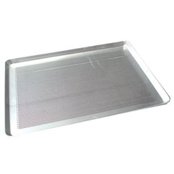 Winco Bun / Sheet Pan 13 x 18 (Half Size), Perforated