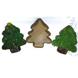 Novacart Small Christmas Tree Disposable Paper Baking Pan Albero small