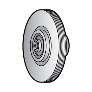 Knife Pulley Assembly for Berkel Slicers OEM # 4375-00192