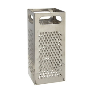 Grater Box Style 4 Square - Stainless Steel - 9 H.