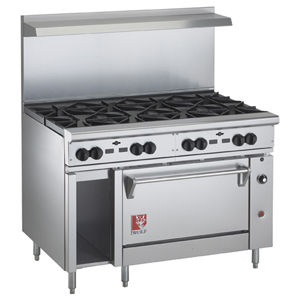 Wolf C48s 8bn Challenger Natural Gas Range 48 8 Burners