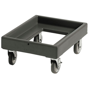 Cambro Camdolly CD300 for Cambro Camtainers & Camcarriers, Black