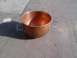 Savage Bros Copper Kettle 24' x 18 Used Very Good Condition