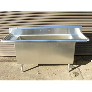 Custom Made Commercial Stainless Steel Kitchen Sink 68 x 20 3/4 x 32 ...