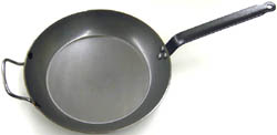 de Buyer Steel Frying Pan, Made of Heavy Quality Steel