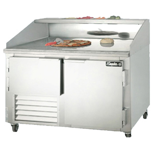Leader Dr48 Refrigerated Dough Retarder Pizza Prep Table