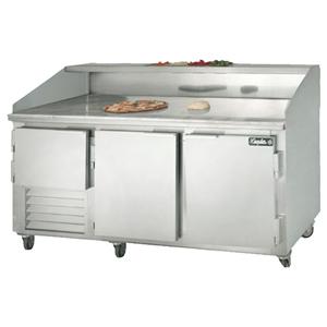Leader Dr72 Refrigerated Dough Retarder Pizza Prep Table