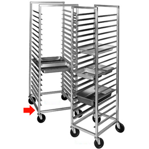 Channel ETPR-3S Steam-Table-Pan Rack for 12x20 Pans - Holds 38 Pans. Rack is Aluminum