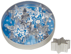 Fox Run 36091 Snowflake Cookie Cutter Set