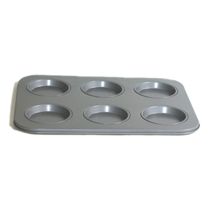 Fox Run Nonstick Large 6 Cup Muffin Top Pan