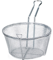 Winco 7 Quart Mesh Fry Basket