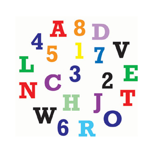 FMM Alphabet & Number Block Set - Upper Case