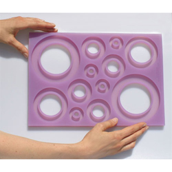Silicone Ring GeoMat Silicone Sugar Mold