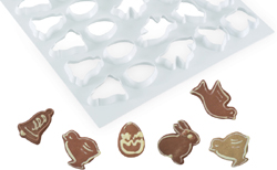 Martellato Production Cookie Cutting Sheet: Easter