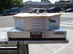 Heat Seal Pizza Capper Model # PW18 Used Very Good Condition