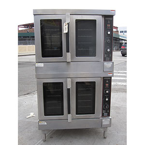 Hobart Double Hgc5 Gas Convection Oven Used Excellent