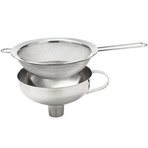 ISI 2714 Stainless Funnel & Sieve for Cream Whippers