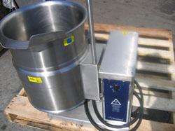 Cleveland Steam Jacketed Electric Tilting Kettle Model
