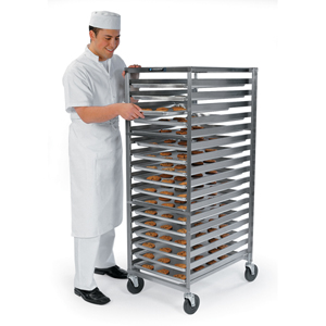Lakeside 128 Stainless Steel Standard Pan & Tray Rack - 35 Trays 18 x 26