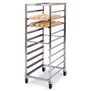 Lakeside 155 Stainless Steel Economy Pan & Tray Rack - 10 Trays 18 X ...