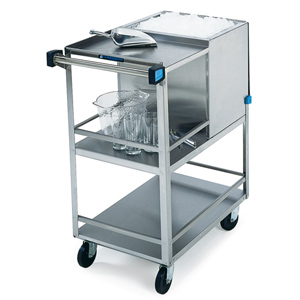Lakeside 230 Stainless Steel Ice Cart 50 Lb Cap