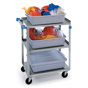 Lakeside 322 Stainless Steel Utility Cart 300 Lb. Capacity