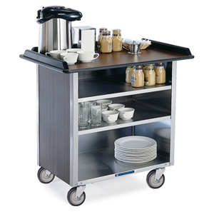 Lakeside 678 Beverage Service Cart w/o Drop Leaves 21 x 35