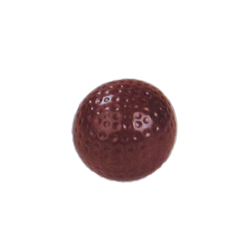 Polycarbonate Chocolate Mold Golf Ball (Half-Sphere) 39 mm, 24 Cavities. Buy 2 Molds to Make Whole Golf Balls
