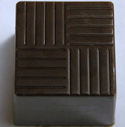 Polycarbonate Chocolate Mold Cube 20x20x20mm, 54 Cavities
