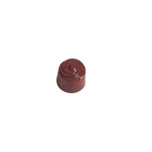 Polycarbonate Chocolate Mold Cylinder 24mm Diameter x 20mm High, 54 Cavities