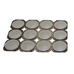 Paper Muffin Tray 1.8 Oz, 12 Cavities, Pack of 6
