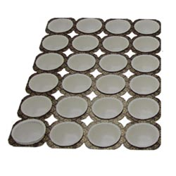 Paper Muffin Tray 3.5 Oz, 24 Cavities, Case of 100
