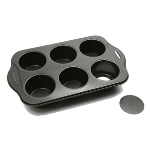 Norpro Nonstick Cheesecake Pan, 6 Cavities